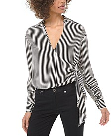 Striped Tie Shirt