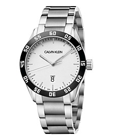 Unisex Compete Stainless Steel Bracelet Watch 42mm