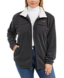 Plus Size Benton Springs™ Plaid Fleece Jacket