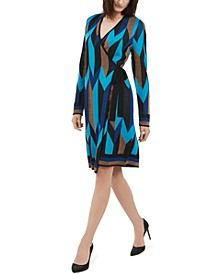 INC Wrap Sweater Dress, Created For Macy's