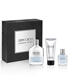 Men's 3-Pc. Urban Hero Eau de Parfum Gift Set