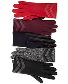 Isotoner smartDRI® Chevron Stretch Touchscreen Gloves