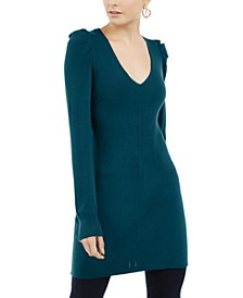 INC Puff-Sleeve Sweater Tunic, Created For Macy's