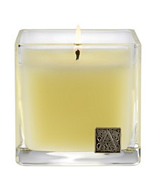 Orange & Evergreen Cube Candle
