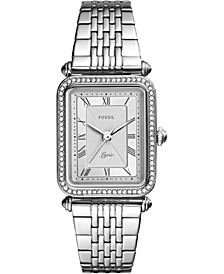 Women's Lyric Stainless Steel Bracelet Watch 28mm
