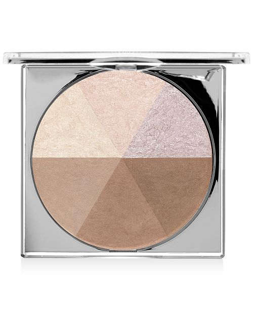 PUR Crystal Clear Jumbo Highlight and Bronzer Palette - Limited Edition