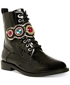 Betsey Johnson Dexter Combat Boots