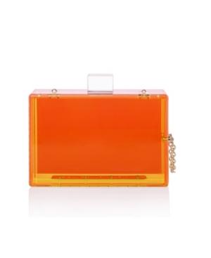 Trendy Transparent Acrylic Clutch