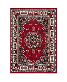 "Global Rug Design Choice CHO13 Red 9'2"" x 12'5"" Area Rug"