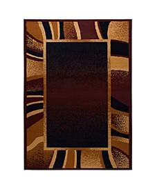 "Global Rug Design Choice CHO11 Brown 7'8"" x 10'7"" Area Rug"
