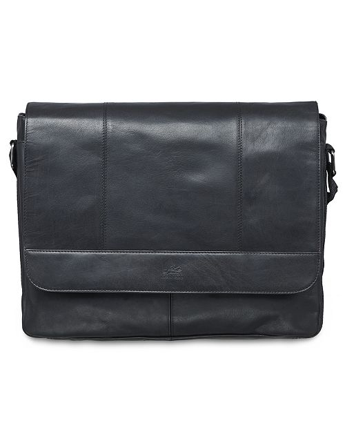 Mancini Buffalo Collection Laptop/ Tablet Messenger Bag