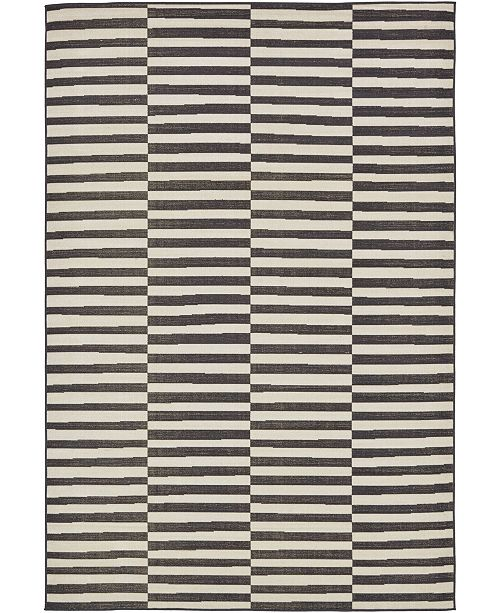 Bridgeport Home Axbridge Axb2 Black Area Rug Collection