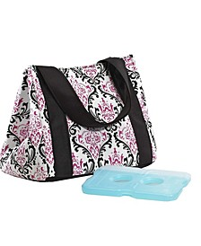 Women's Venice Insulated Lunch Bag with Ice Pack, Stylish Adult Lunch Bag for Work or School