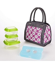 Ashland Lunch Bag Kit with Reusable Container Set and Ice Pack