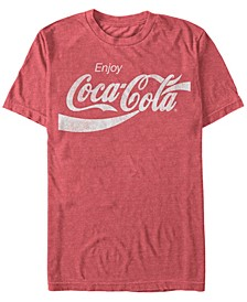 Men's Vintage-Like Enjoy Coca-Cola Short Sleeve T-Shirt