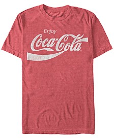 Coca-Cola Men's Vintage Enjoy Coca-Cola Short Sleeve T-Shirt
