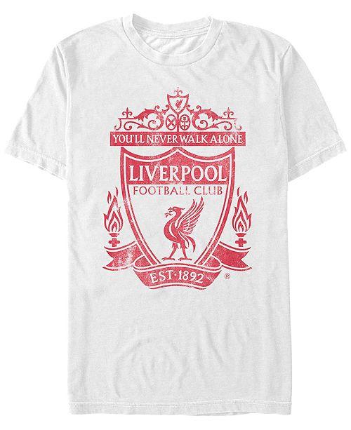 Liverpool Football Club Men's Walk On Reds Short Sleeve T-Shirt