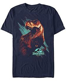 Men's T. Rex Computer Screen Short Sleeve T-Shirt