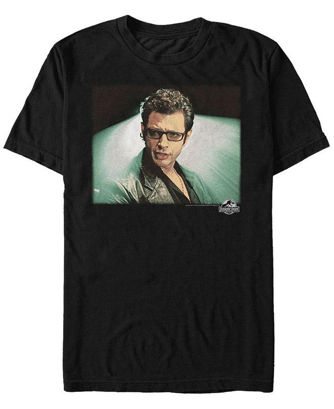 Jurassic Park Men's Dr. Malcolm Portrait Short Sleeve T-Shirt
