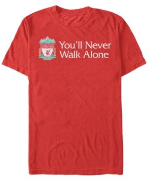 Men's Right Pocket Emblem You'll Never Walk Alone Short Sleeve T-Shirt
