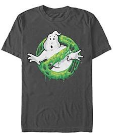 Ghostbusters Sony Men's Classic Slim Ghost Logo Short Sleeve T-Shirt