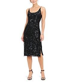 Beaded Midi Dress