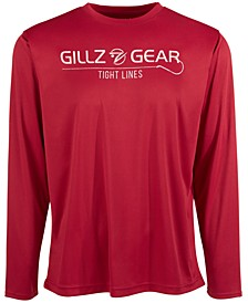 Men's Tight Lines Long-Sleeve Graphic T-Shirt