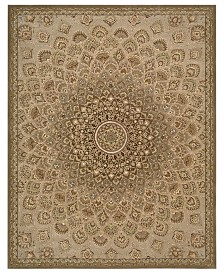 "Nourison Area Rug, Wool & Silk 2000 2262 Multicolor 7'9"" x 9'9"""