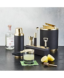 Black & Gold Barware Collection, Created For Macy's