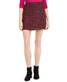 Tweed Mini Skirt, Created For Macy's
