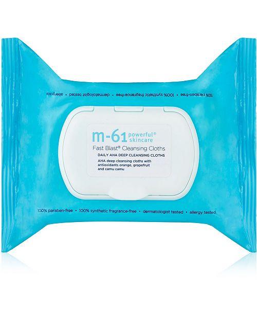 m-61 by Bluemercury Fast Blast Cleansing Cloths, 30-Pk.