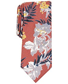 Men's Pepperwood Skinny Floral Tie, Created For Macy's