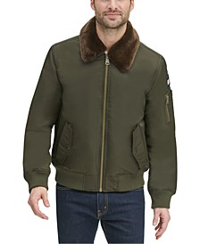 Men's Military Bomber Jacket, Created for Macy's