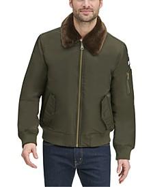 Men's Military Bomber Jacket, Created for Macy's