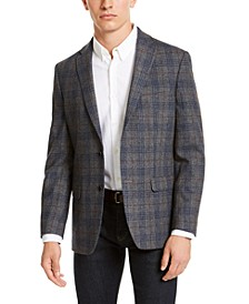 Men's Modern-Fit THFlex Stretch Plaid Sport Coat