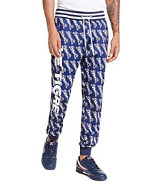 Men's Avery Slim-Fit Logo Graphic Track Pants