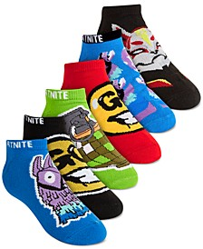 Minecraft 6-Pk. No-Show Socks