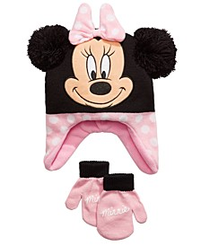 Big Girls 2-Pc. Heidi Hat & Mittens Set