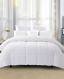 600 Fill Power 75% White Down Year Round Comforter, Size- Full/Queen