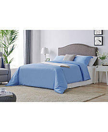 Organics Cotton Duvet Cover Set, 3 Piece- King