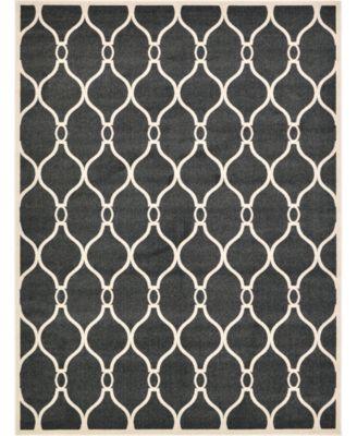Arbor Arb6 Black 5' x 8' Area Rug