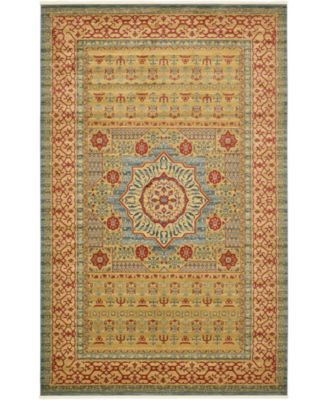 Wilder Wld4 Light Blue 7' x 10' Area Rug