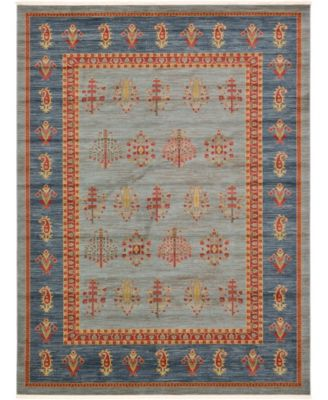 Ojas Oja2 Light Blue 9' x 12' Area Rug