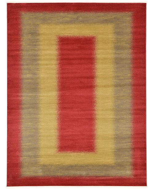Bridgeport Home Ojas Oja8 Red Area Rug Collection