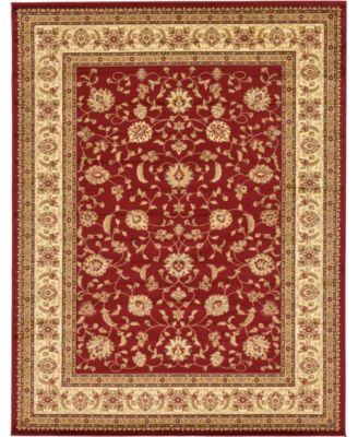 Passage Psg4 Red 10' x 10' Square Area Rug