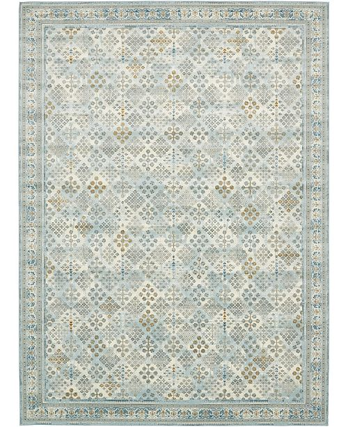 Bridgeport Home Reese Ree6 Light Blue Area Rug Collection