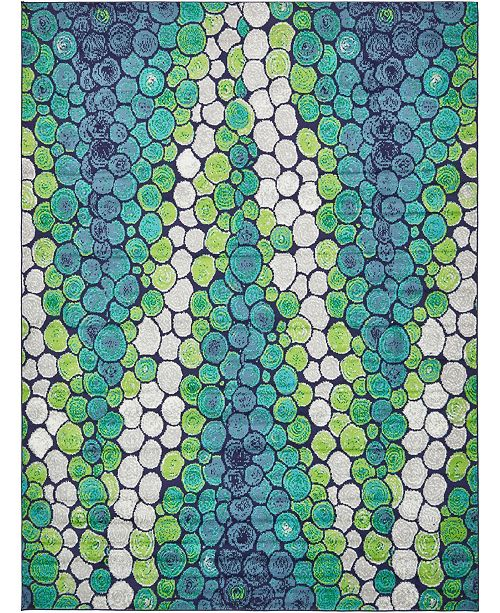 Bridgeport Home Politan Pol3 Light Green Area Rug Collection