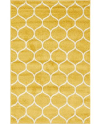 Plexity Plx2 Yellow 9' x 12' Area Rug