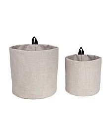 Bigso Box of Sweden Hang Around Soft Storage Bins, Set of 2
