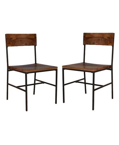 Carolina Classics Easley Dining Chair (Set of 2), Quick Ship